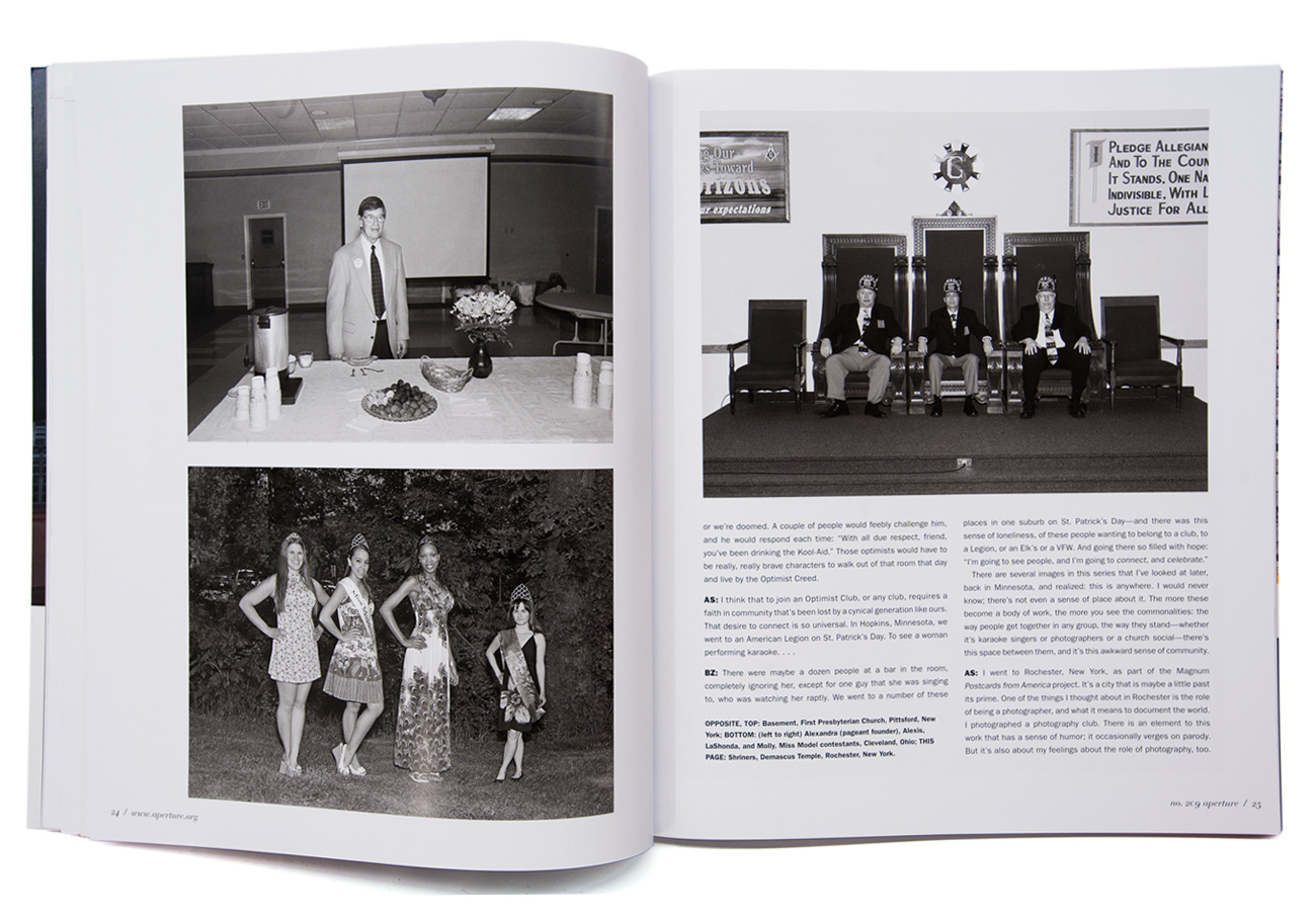 Aperture Magazine / LBM Dispatch