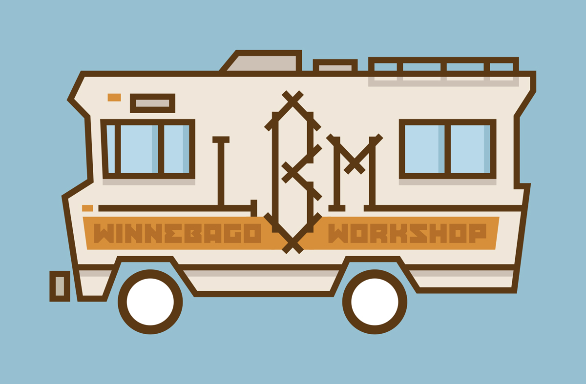 LBM Winnebago Graphic